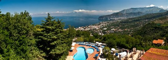 Grand Hotel Hermitage & Villa Romita: View from our Hotel