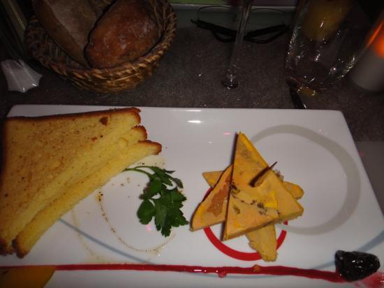 Music Hall Restaurant: Foie gras
