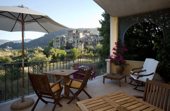 Es Petit Hotel de Valldemossa: Terraza hotel