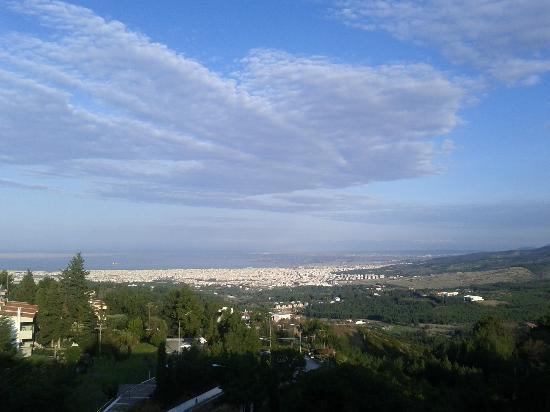Nepheli Hotel : Panorama view