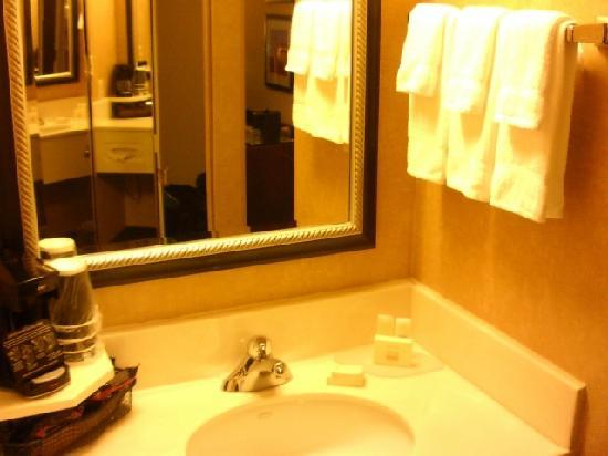 Courtyard by Marriott Winston-Salem Hanes Mall: Bath Sink Area Hanes Mall Courtyard By Marriott