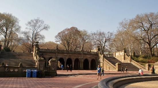 Bethesda fountain terrace and stairs central park new for New walk terrace york