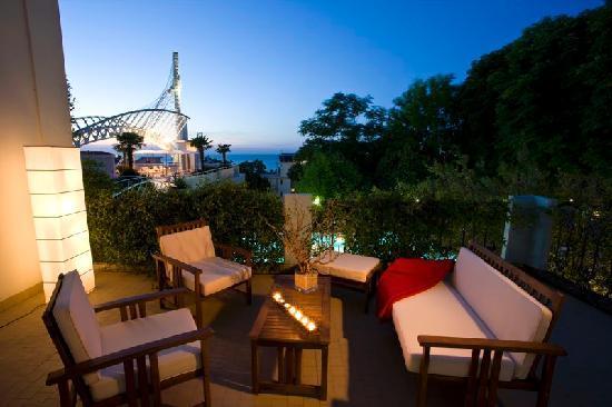 Du Parc Hotel: Terrazzo camera Suite