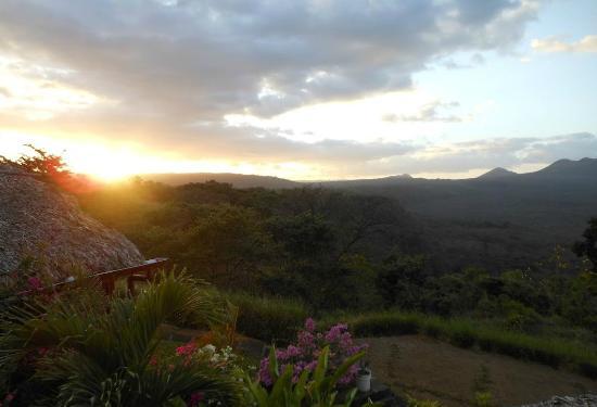 Hacienda Puerta Del Cielo Eco Spa : Sunset -- every night...