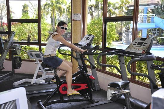 Hotel Stotsenberg: gym