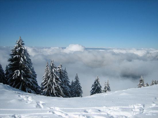Montagne du Semnoz : Semnoz-hiver