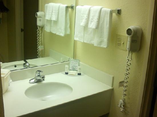 Fairfield Inn & Suites Charlotte Arrowood: Fairfield Inn & Suites Arrowood bath