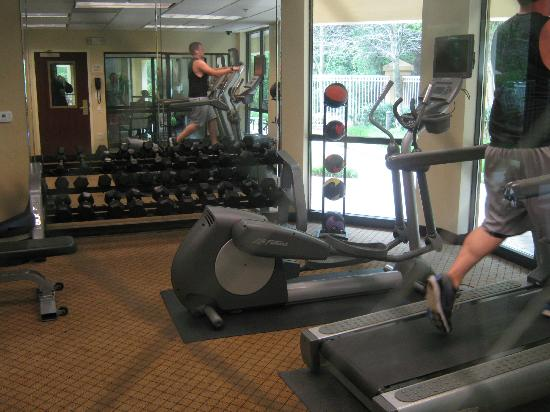 Courtyard Greenville-Spartanburg Airport: Fitness center