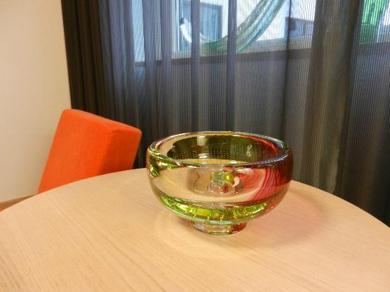 Kosta Boda Art Hotel: Göran Wärff bowl in my room