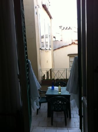 Hotel Esperanza: patio!