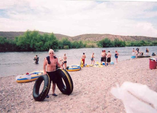 Salt River Tubing: About to go on...