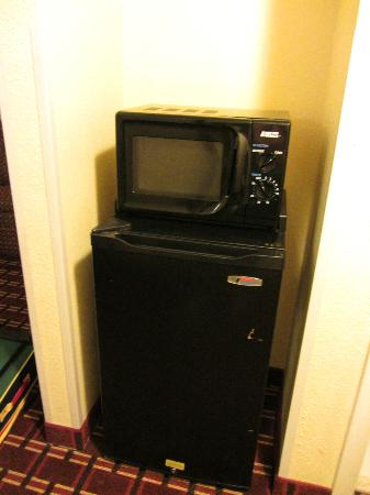 Sleep Inn Ft. Lauderdale International Airport: Microwave and fridge