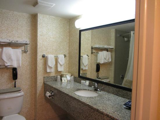 Sleep Inn Ft. Lauderdale International Airport: Room 302 bathroom