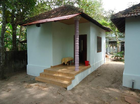 Snehadhara Homestay: Il nostro bungalow!