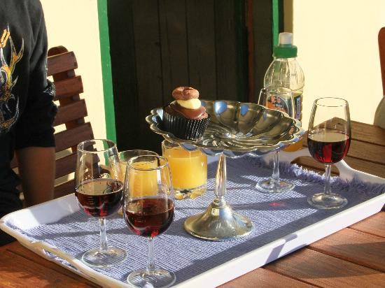 De Denne Country Guest House: aperitivo di benvenuto