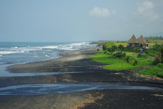 Bali Wisata Bungalows: einsame, lange Strände
