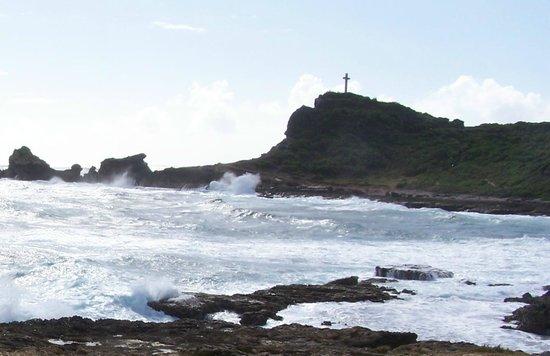 Saint-François, Guadeloupe: Pointe des chateaux 01/2012