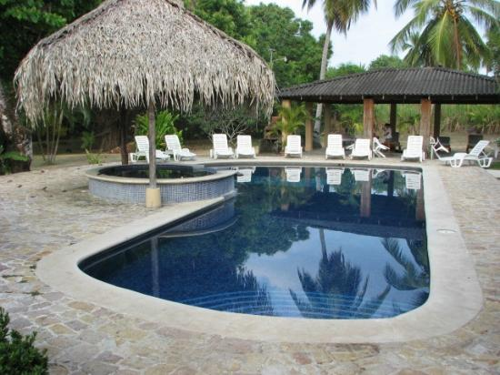 Playa Bejuco, Costa Rica: Pool area