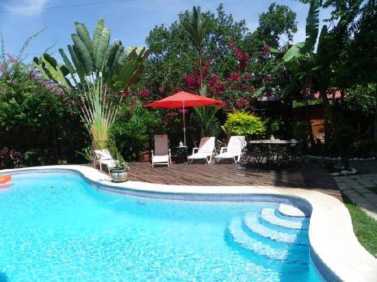 La Casa del Mango : relax poolside!