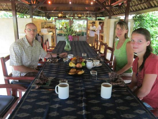 Villa Pantulan: unbelievable breakfasts!