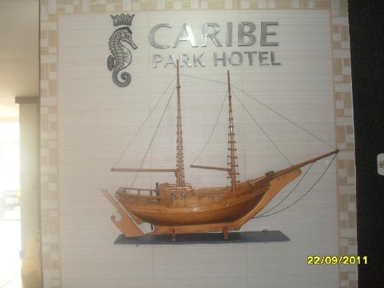 Caribe Park Hotel: recibidor al lado de ascensor