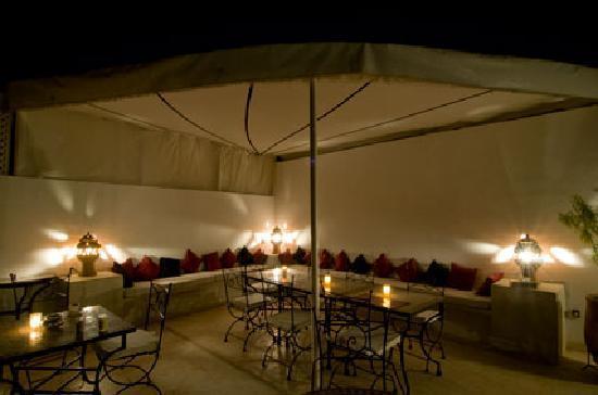 Riad Mirage: La terrasse