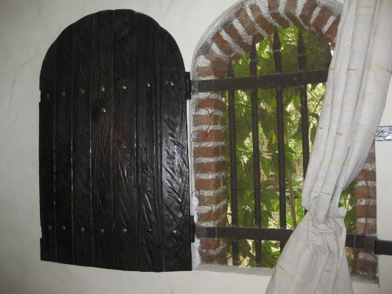 Guesthouse Las Piedras : Room window