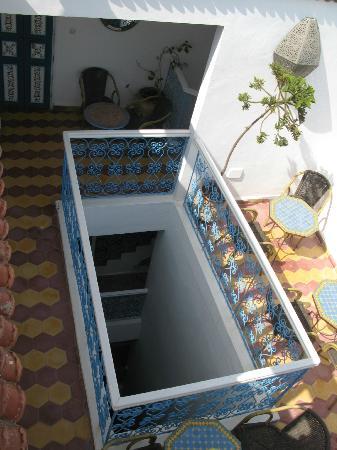 Emeraude Hotel: terrasse