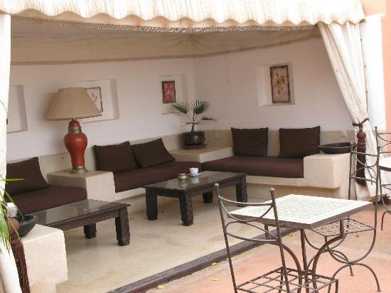 Riad Calista: terrasse