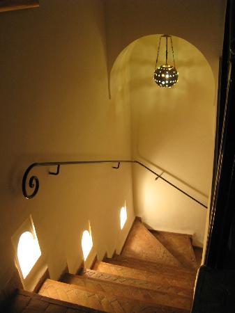 Riad Calista : couloir