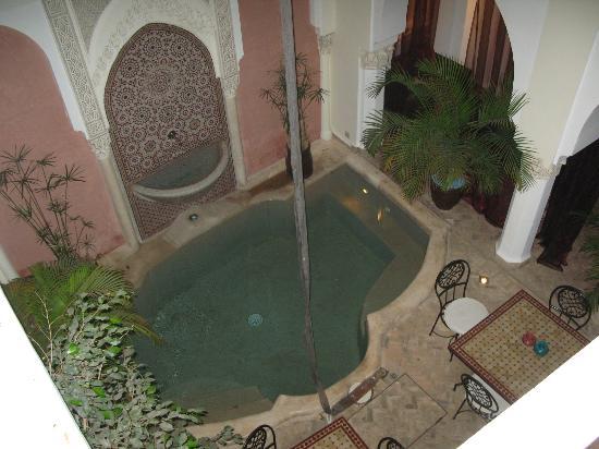 Riad Calista : piscine