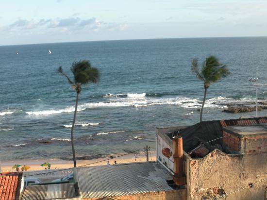 Hotel O Principe: Vista desde Baño- Bathroom view