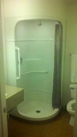 Motel 6 Ft. Stockton: Shower