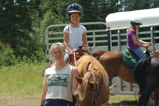 Sawtooth Mountain Stables: A happy customer