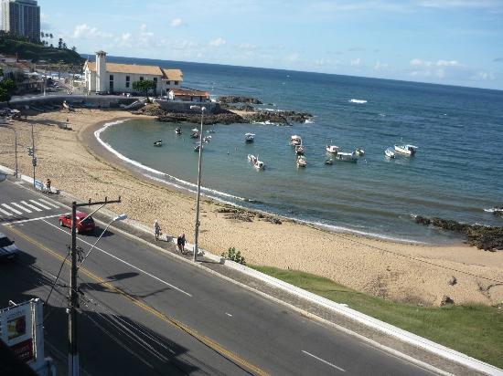 Mar Hotel Rio Vermelho: Playa de los pescadores