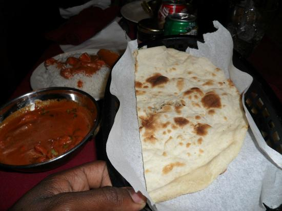 Taste of India: Chicken meal
