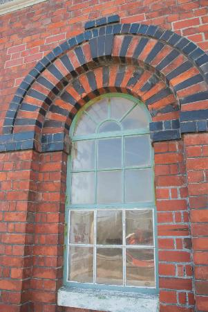 Invercargill Water Tower : Arched window on the Water Tower