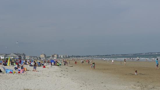 Kebek 2 Motel: vue générale de la plage