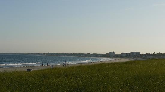 Kebek 2 Motel: vue de la plage à marée basse