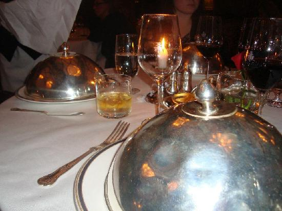 George V Dining Room: exceptional service