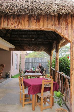 Villa Los Reyes : The dining nook