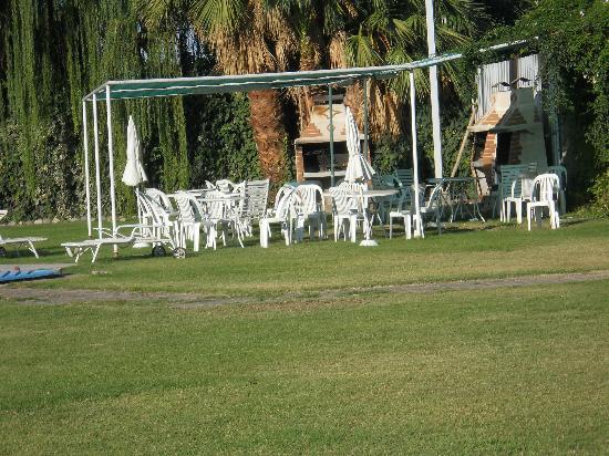 Parque Apart Hotel: hermoso parque