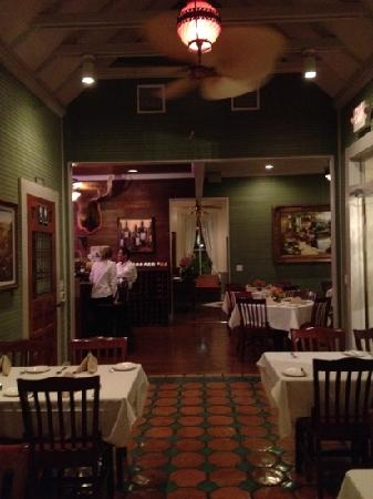 The Creek Restaurant : I think we were closing down the house... very lovely!!!