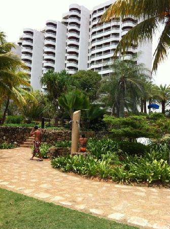 Hotel Venetur Margarita: vista desde una parte de la picina