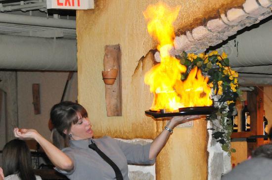Tholos: flames