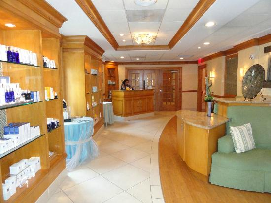 The Founders Inn and Spa: My favorite spot...The spa!