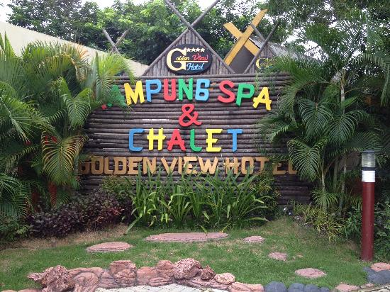 Golden View Hotel Batam: Golden View Kampung Chalet