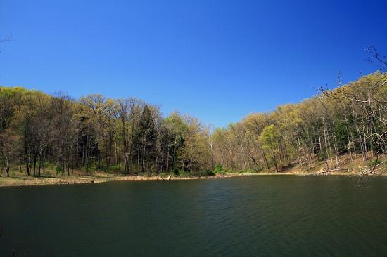 Scioto Trail State Park: Caldwell Lake