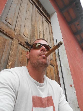 Antigua Tabaco Compania S.A. : yours truly
