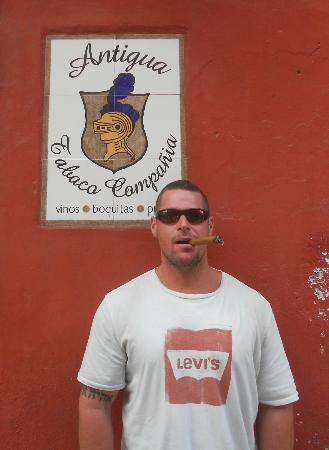 Antigua Tabaco Compania S.A.: my mug shot